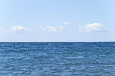Horizon on the sea Stock Photo