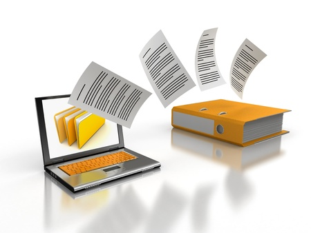 stack of files: Copy files
