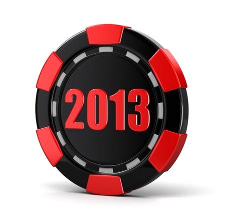 casino chip 2013  photo