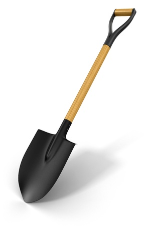 cultivated land: Shovel