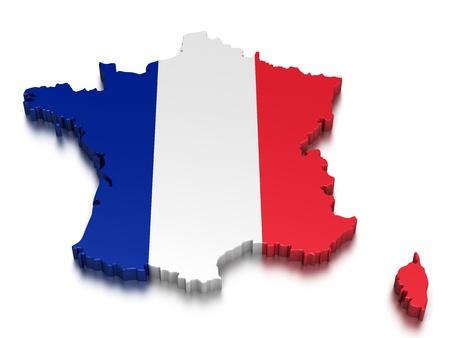 France Standard-Bild