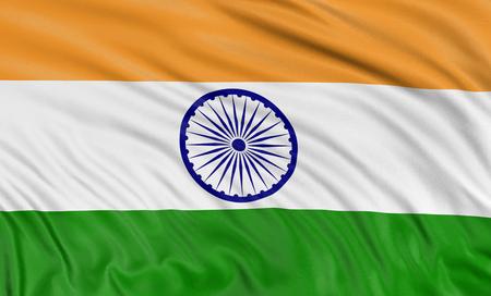 indian flag: 3D Indian flag