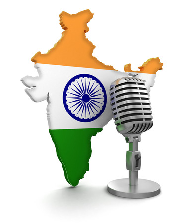 Microphone and India
