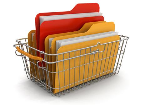 shopping basket: Shopping Basket and Folders