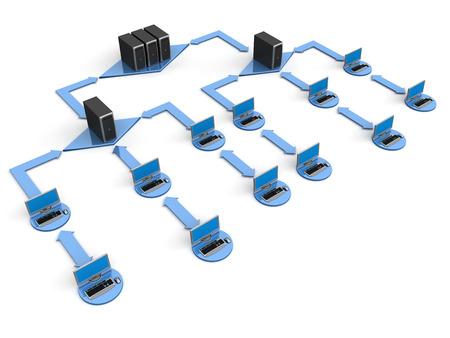 Computer Network Stock Photo - 22214632