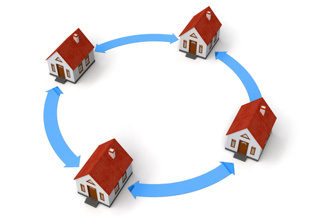 House Network Stock Photo - 22214646