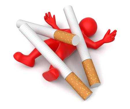 tobacco product: Cigarette beats man