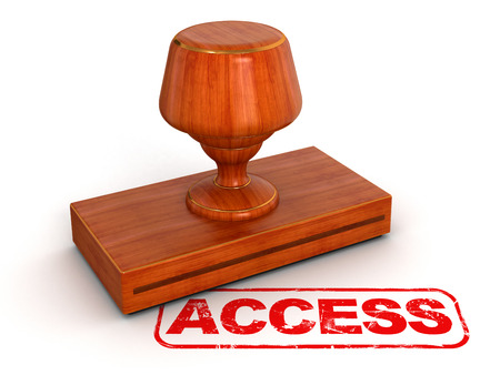 Passed out: Rubber Stamp access