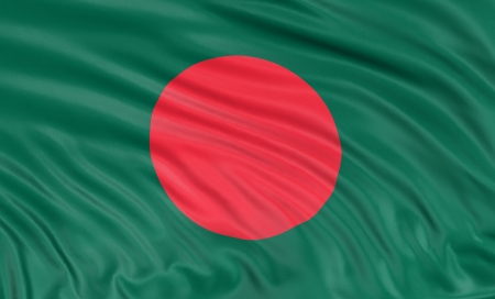 bangladesh 3d: 3D Flag of Bangladesh
