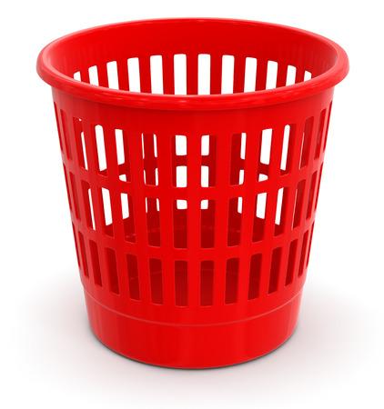 wastepaper: garbage basket   Stock Photo
