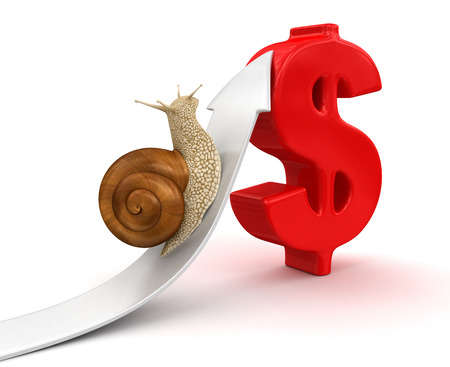 no rush: Snail  and Dollar