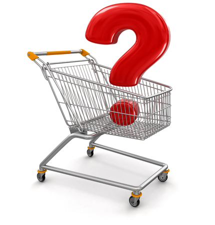 Shopping Cart with Quest   photo