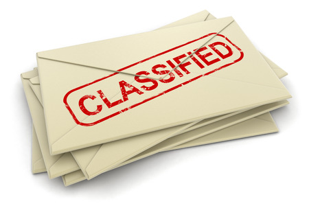 classified letters Stock Photo - 22375191