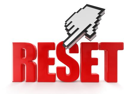 reset: Reset  and cursor