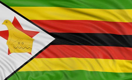 zimbabwe: 3D Flag of Zimbabwe