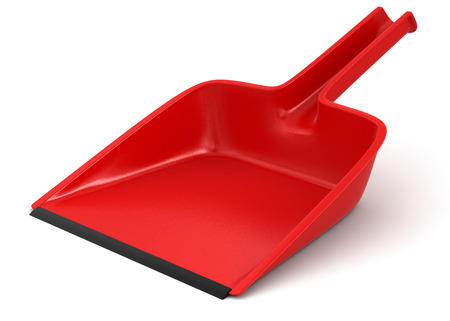 dustpan  clipping path included