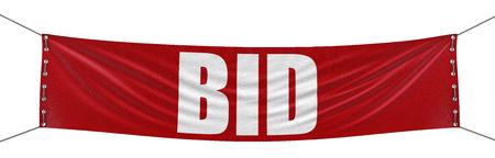 bid: BID trazado de recorte incluido Banner
