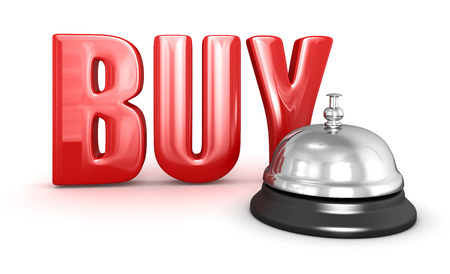 e auction: Service bell and Buy Stock Photo