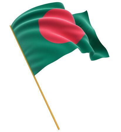 national flag bangladesh: 3D Flag of Bangladesh