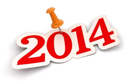 圖釘和2014年