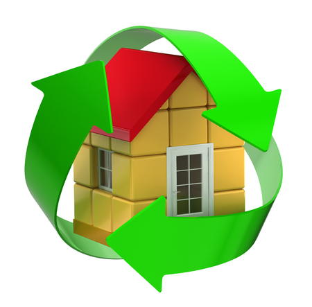recycle house photo