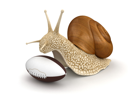 no rush: Snail and Football