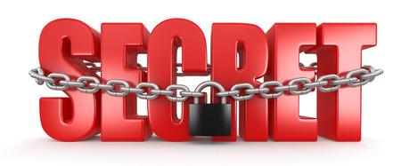 Secret and lock