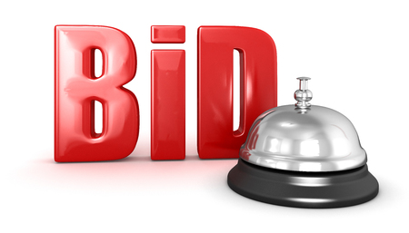 e auction: Service bell and BID