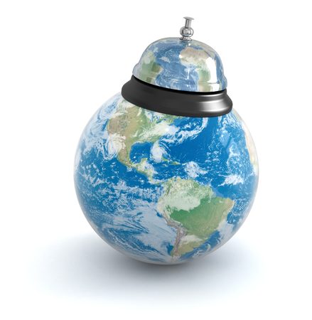 Service bell and globe photo