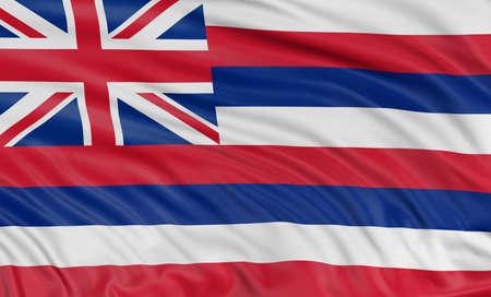 hawaii flag: 3D Hawaii Flag