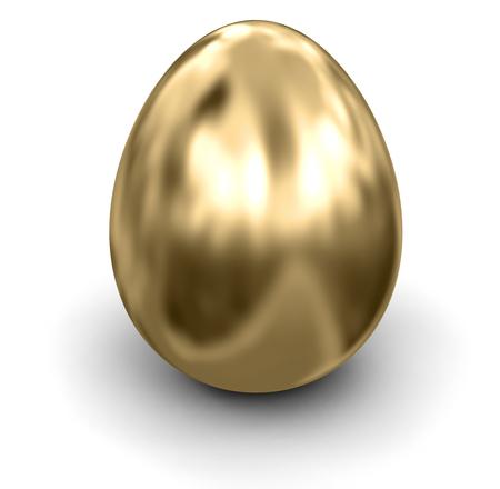 Golden Egg   Stock Photo