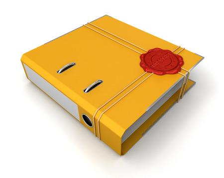 Folder Top Secret   Stock Photo - 22693697