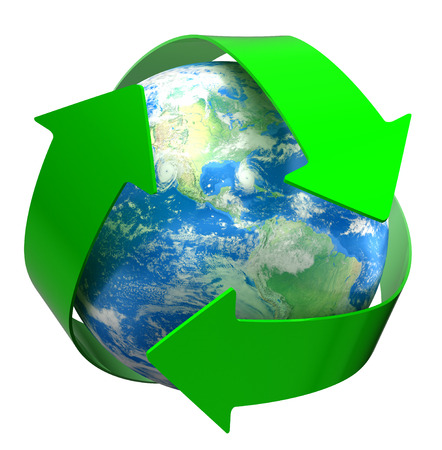 Recycle Globe  photo