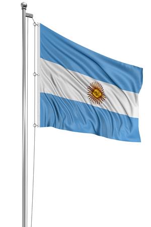 bandera argentina: 3D Bandera de Argentina