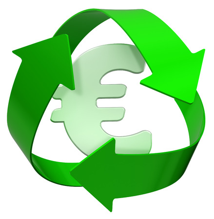 Recycle euro photo