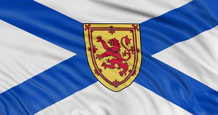 3D Nova Scotia  Flag photo