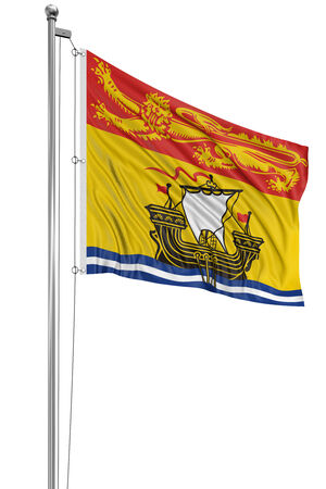 3D New Brunswick  Flag photo