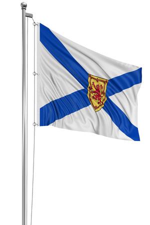 Nova Scotia: 3D Nova Scotia  Flag