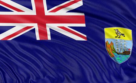 helena: 3D Saint Helena Flag