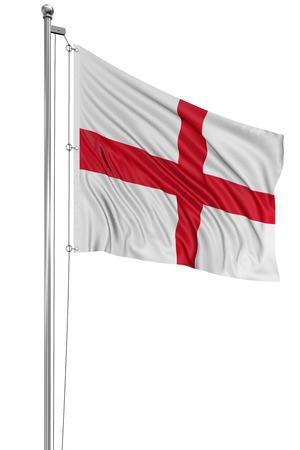 drapeau anglais: 3D drapeau anglais Banque d'images