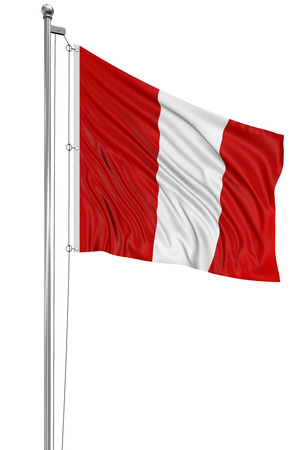 Bandera peruana 3D  photo