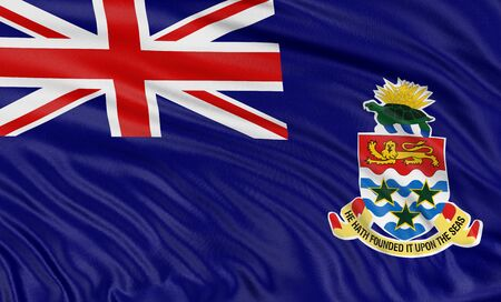 3D開曼群島國旗