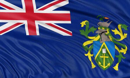 pitcairn: 3D Pitcairn Islands Flag