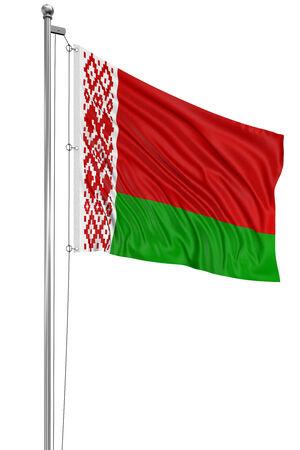 belarus: 3D Belarus flag