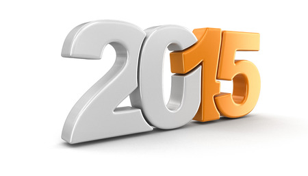 New Year 2015 figure photo