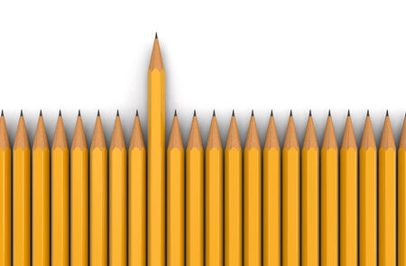 included: Pencils (clipping path included) Stock Photo