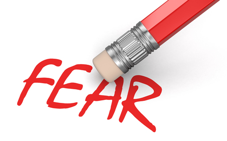 fear: Erase Fear  Stock Photo