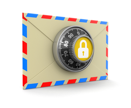 Letter protection  Stock Photo