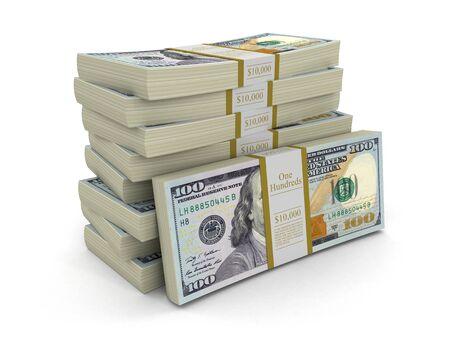 dollaro: Mucchio di dollari