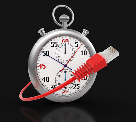 computer cable: Stopwatch and Computer Cable